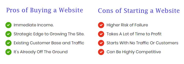 buying-website-pros-cons