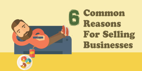 Common Reasons for Selling Business